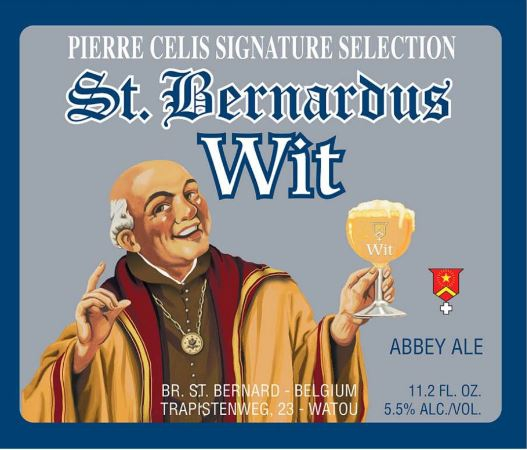 Afbeeldingsresultaat voor bernardus witbier logo